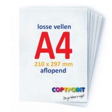 A4 prints aflopend