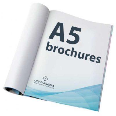 A5-brochures
