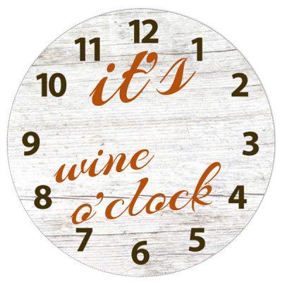 Klok it's wine o'clock