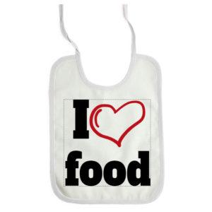 Slabbetje I love food